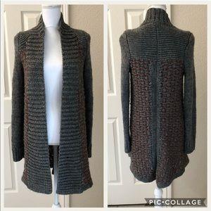 Anthropologie Moth Sweater Coat
